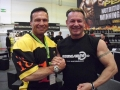 Willi Odenthal trift Thomas Scheu bei der FIBO 2012