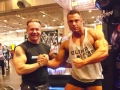 Willi Odenthal trift Paul Polozek bei der FIBO 2012