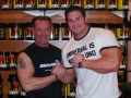 Willi Odenthal trift David Hoffmann bei der FIBO 2012