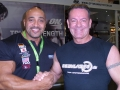 Willi Odenthal trift Dennis James bei der FIBO 2012